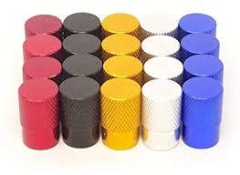 yueton 20pcs Colorful Round Flat Top Aluminum ... - Amazon.com