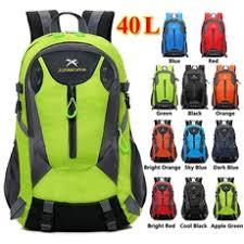 <b>New</b> Selling Nylon Waterproof <b>Backpack 40L</b> Large Capacity Travel ...
