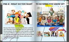 glimpse the future have a what do you want to be page for pre k