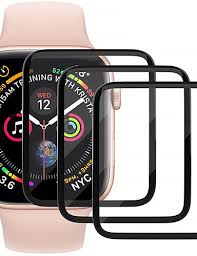 Screen Protector for Apple Watch Series 3/2/1 Anti-Scratch <b>3D</b> ...