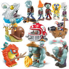<b>Blind box lotter</b> Plants vs Zombies Figures Building Blocks PVZ ...