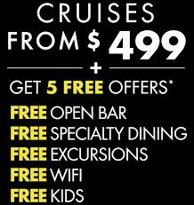 Norwegian's <b>Free at</b> Sea | Cruise Deals | Norwegian Cruise Line