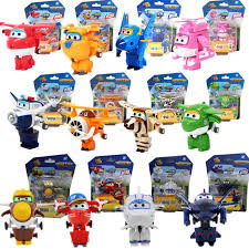 13 <b>styles Super</b> Wings Action Figure Toys Mini Airplane Robot ...