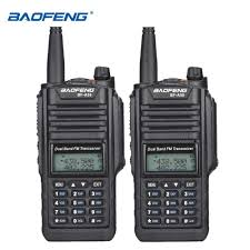 2pcs baofeng bf a58 high power 5w walkie talkie waterproof uv 9r dual band a58 sdr hf radio transceiver amateur station