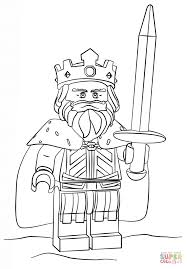 Small Picture Lego King coloring page Free Printable Coloring Pages