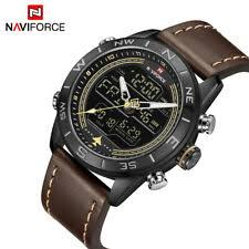 <b>Naviforce Men's</b> Military Wristwatches for sale | eBay