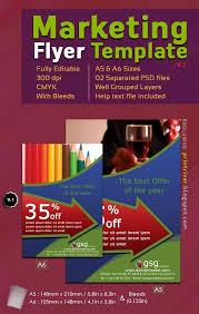best photos of photoshop flyer template designs psd club   marketing flyer templates