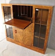 art deco walnut cabinet art deco furniture cabinet