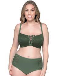 <b>Верх купальника</b> Curvy Kate Rush Plunge Bikini (Oliva)