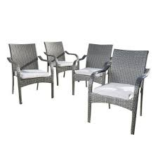 <b>Stackable</b> - Outdoor Dining Chairs - <b>Patio Chairs</b> - The Home Depot