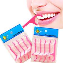 Зубная <b>нить</b>, зубная <b>нить</b> для межзубной чистки, <b>50</b> шт./лот ...
