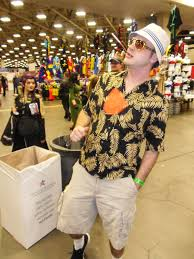 the cosplayers of comic con steve lovelace hunter s thompson cosplay