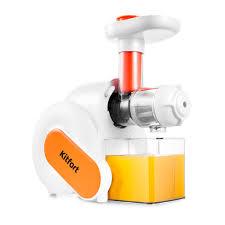Шнековая <b>соковыжималка Kitfort KT-1110-2</b>, оранжевая купить по ...