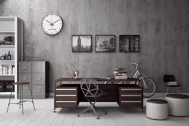 gray home office. industrial style home office masculine for the modern man gray s