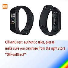 "Xiaomi Mi Band 4 Fitness Tracker, Newest 0.95"" Color ... - Amazon.com"