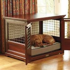 furniture dog crate could probably make this out of an old cabinet and much more furniture style dog crates