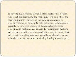 the representations of gender in horror films essay ltbr gt