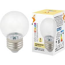 Купить Декоративная светодиодная <b>лампа Volpe LED</b>-<b>G45</b>-<b>1W</b> ...
