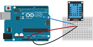 how to set up the dht11 humidity sensor on an arduino arduino dht11 tutorial 3 pin dht11 wiring diagram