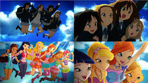 three anime and k pop references in the season six trailer una k on winx club comparison