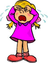 Resultado de imagem para clipart children crying
