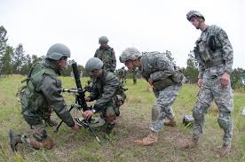 u s department of defense photo essay n army iers and a u s army paratrooper practice adjusting a 60mm mortar used by u s