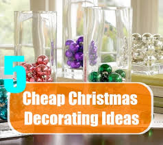 cheap christmas decor: cheap christmas decorating ideas cheap christmas decorating ideas for your minimalist home cheap easy christmas decorations