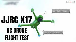 <b>JJRC X17</b> RC Drone Flight Test Review! GPS Foldable Quadcopter ...