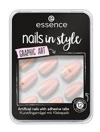 essence <b>Накладные ногти на клейкой</b> основе Nails In Style ...
