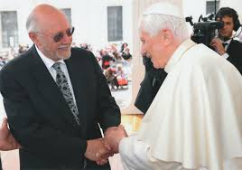 Image result for Photo of Pope Benedict with Jewish RABBIS