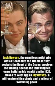 It all makes sense now | Leonardo Dicaprio, Gatsby and Timeline via Relatably.com
