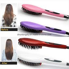 China <b>Hair Brush Fast</b> Hair Straightener <b>Comb</b> Hair <b>Electric</b> Brush ...