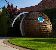 view in gallery futuristic backyard sheds offices studios spherical detached office 14 futuristic backyard offices nooks and pods backyard office pod cuts