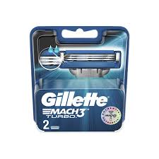 <b>GILLETTE</b> Сменные <b>кассеты</b> для бритвы <b>Mach3 Turbo</b>