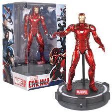 New Original <b>Avengers Endgame</b> Iron Man Ironman <b>17cm</b> Action ...