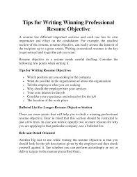 resume objective for ojt  tomorrowworld cogeneral resume objective examples format pdf general resume objective  x   resume objective for ojt resume objective examples