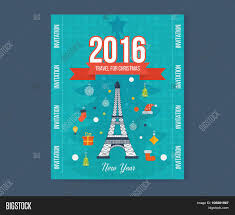 travel to paris for christmas greeting card design flyer travel to paris for christmas greeting card design flyer templates