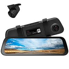 <b>70mai Rearview Dash</b> Cam Wide with HD Rear Camera, Dual ...