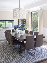 photos hgtv light filled dining room with drum pendant chandeliers drum pendant lighting decorating