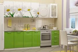 <b>Кухня</b> с фотопечатью <b>Ромашки</b> New МДФ - Каталог мебели ...