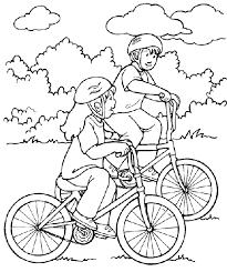 Resultado de imagem para bicicleta para colorir