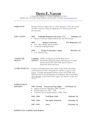 Brilliant Good Resume Objective Examples