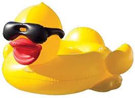 SXC <b>Inflatable Pool Float</b>,Mega Yellow Duck Island <b>PVC Inflatable</b> ...