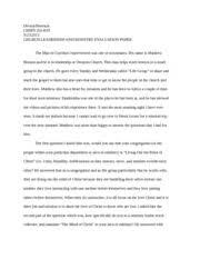 toulmin model argument about the environment   devaul peterson     pages church leadership interview paper