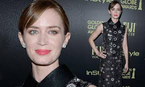 <b>Emily</b> Blunt attends HFPA <b>Golden</b> Globe Awards gala event | Daily ...