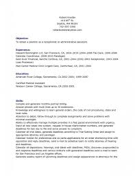 resume objective sample  x    seangarrette co  receptionist resume objective sample  x   resume objective sample