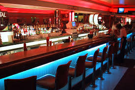 flashy look basement sports bar ideas