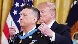 Trump awards Medal of Honor to Iraq War hero David Bellavia