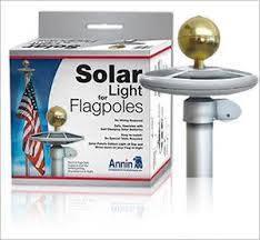 Annin Solar <b>Light</b> for Flagpoles – EZPOLE Flagpoles
