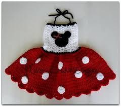 MINNIE MOUSE Polka <b>Dot</b> Dress <b>Crocheted Handmade</b> | Hekl ...